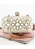 In Stock Gorgeous Party Handbags/Clutches With Beadings
