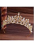 In Stock Stunning Alloy Wedding Tiaras With Rhinestones